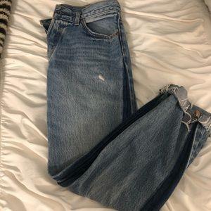 Levi blue wash jeans